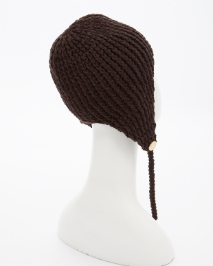 BROWN  EXCLUSIVE 3G KNIT Toque見る