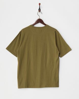 OLIVE/OD  T17.CAMO Z/PKT Tシャツ見る