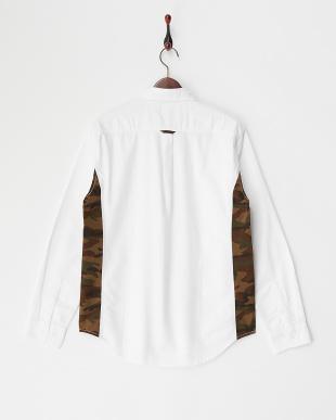WHITE T16.OX×CAMO LS シャツ見る