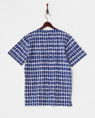 BLUE DYE A/OVER T 6S ポケット付きコットンTシャツ見る