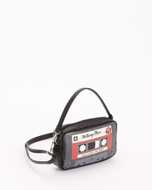 BLACK ショルダーポーチ カセット|UNISEX見る