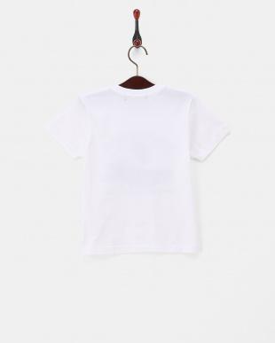 ホワイト 飛行機プリントTシャツ|KIDS見る