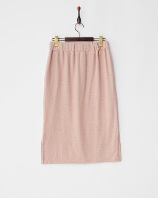 Pink  フクレジャガードタイトスカート見る