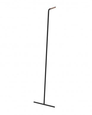 ブラック スリムコートハンガー タワー見る