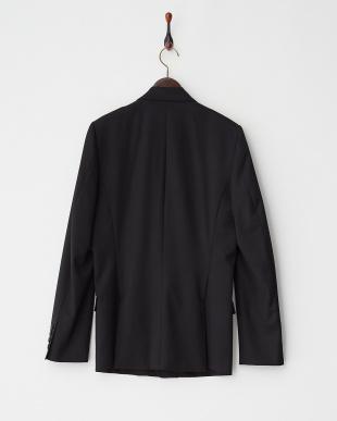 ブラック 衿飾りジャケット見る