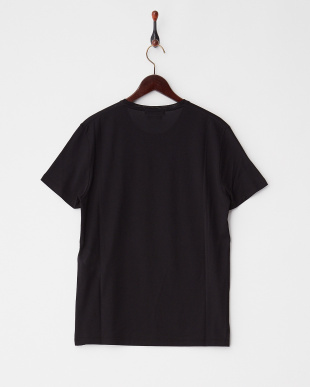 ブラック スカルプリントTシャツ見る