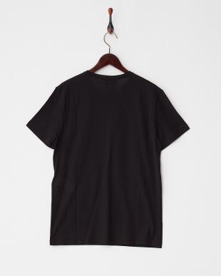 ブラック  肋骨プリントTシャツ見る