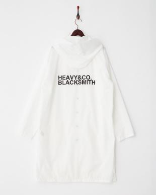 ホワイト  HEAVY&CO. BLACKSMITH レインコート見る