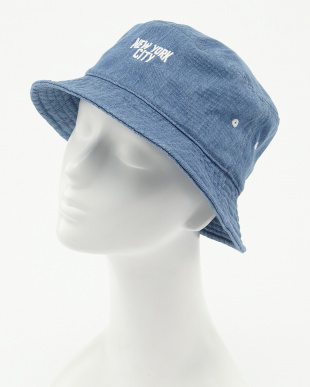 BLUE RU.DENIM BKT HAT見る