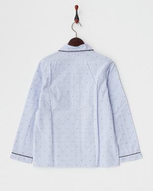 BLUE O.ドビー  パジャマシャツ見る