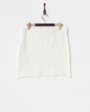 WHITE  M.Nii PROSOF61スウェットスカート見る
