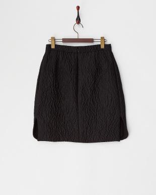 BLACK GBVemboss コクーンスカート見る