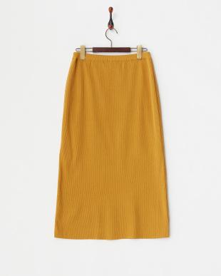 キャメル  ニットスカート見る