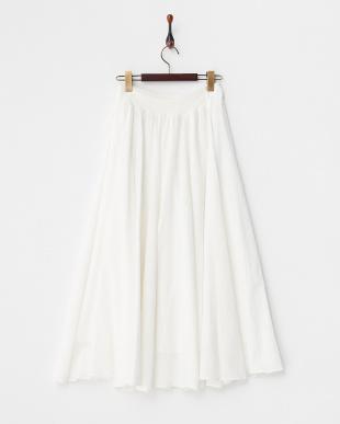 WHITE  ラップロングスカート見る