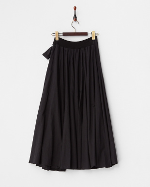 BLACK  ラップロングスカート見る