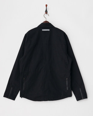 CANVAS BLACK IKE WINDSHIRT見る