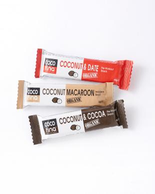 Cocofina 有機ココナッツバー3種×3本セット見る