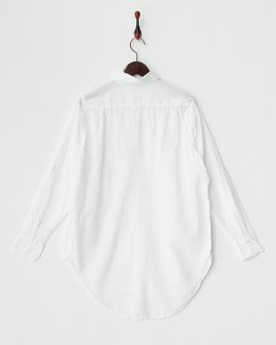 WHITE  オーバーサイズドシャツ A見る
