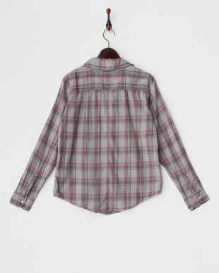 SLATE マドラスチェックシャツ見る