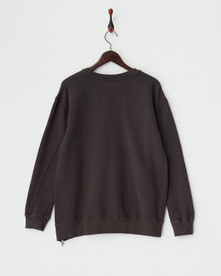V BLACK ジッパーロングセーター見る