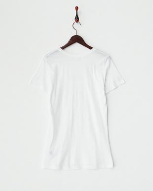 WHITE  ベーシッククルーネックTシャツ見る