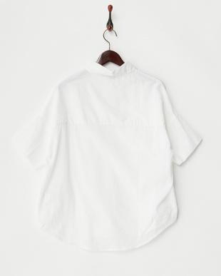 ホワイト  半袖シャツ見る