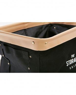 ブラック  The Storage 収納ボックス(レギュラーサイズ)見る