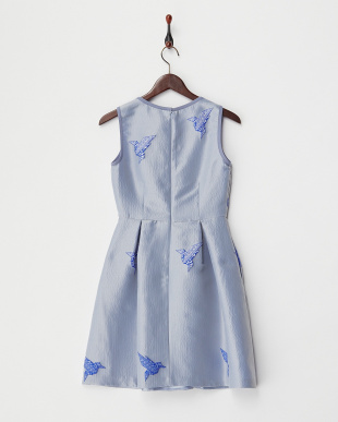 light blue pattern INGLESE origami ドレス(JAPAN 限定ドレス)見る
