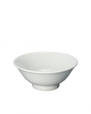 白磁・天目 組和風麺鉢見る