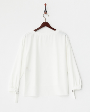 OFF WHITE  V衿袖リングBL見る