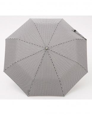 ハウンドトゥースP47  totes line 3 sec Manual 手動開閉折りたたみ傘見る