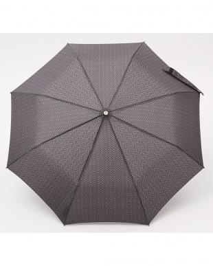 ヘリンボーンB86  TITAN 55cm 3 sec AOC 自動開閉折りたたみ傘見る