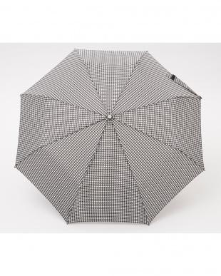 ハウンドトゥースP47  TITAN 60cm 3 sec AOC 自動開閉折りたたみ傘見る