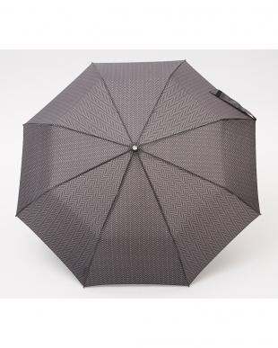 ヘリンボーンB86  TITAN 60cm 3 sec AOC 自動開閉折りたたみ傘見る