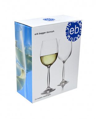 Opera ホワイトワイングラス 2個ギフトボックスセット見る