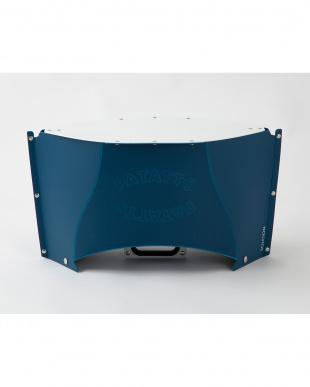 ネイビー  PATATTO TABLE mini・専用バッグ付き(折りたたみテーブル)見る