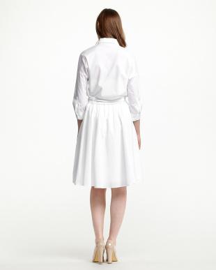 オフホワイト  ブラウス×スカート セット見る