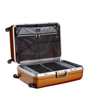 オレンジ ハードスーツケース94L見る