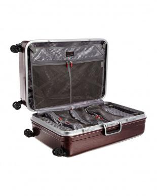 レッドH  ダブルキャスターハードスーツケース94L見る