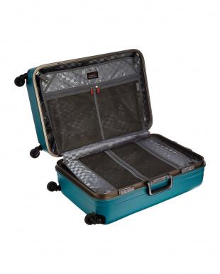 グリーン  サイレントキャスターハードスーツケース82L見る