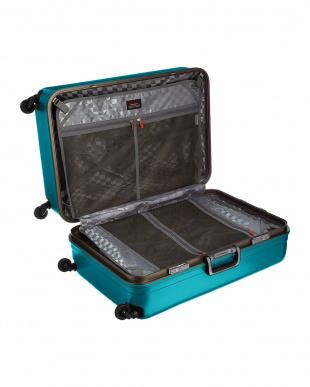 グリーン  サイレントキャスターハードスーツケース94L見る