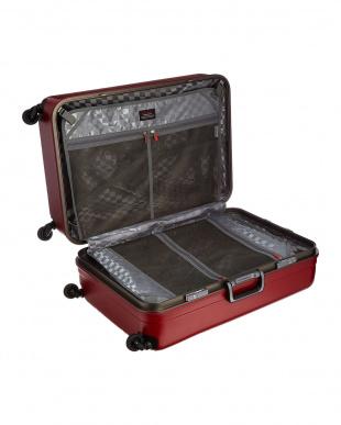 レッド  サイレントキャスターハードスーツケース94L見る