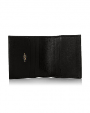 ブラック  2つ折財布(純札)日本製 MAISON de HIROAN見る