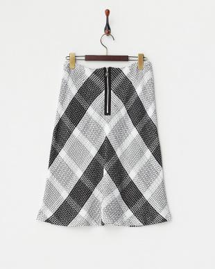 ブラック  ノーボリベラメッシュスカート見る