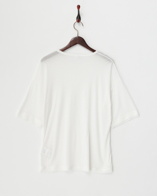 white  ENTITY ジャージー Tシャツ見る