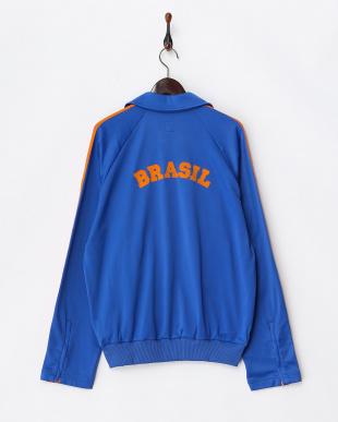 ブルー×オレンジ Brasil Jacket MEN見る