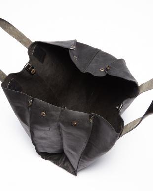 ブラック  レザートートバッグ見る