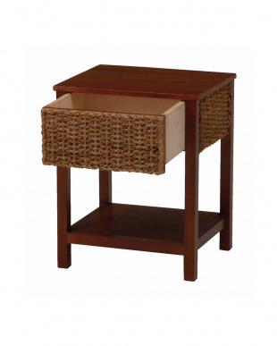 アバカサイドテーブル 40×35×50cm見る