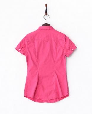 RUBINE RED  MARAH M/C WHITE DENIMストレッチシャツ見る