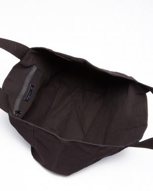 ブラック GO02-01 ロゴプリントトートバッグ見る